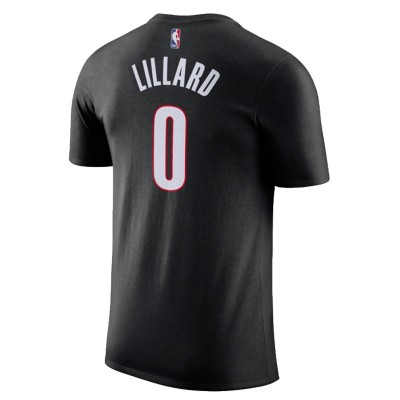 Nike Junior NBA Blazers Nick Name Tee Lillard 'Icon Edition' EZ2B711F1-PTDLI