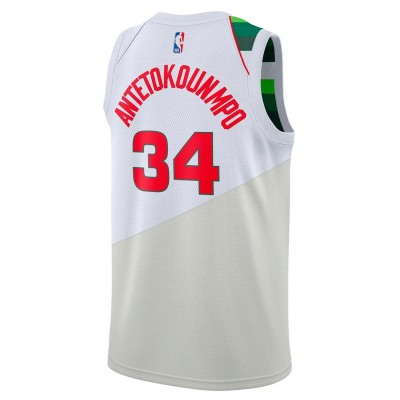 Nike Junior NBA MB Swingman Jersey Antetokounmpo 'Earned Edition' EZ2B7B1CP-MBGA