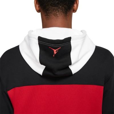 Jordan Legacy Hoodie AJ11 'Black'-CU1508-010