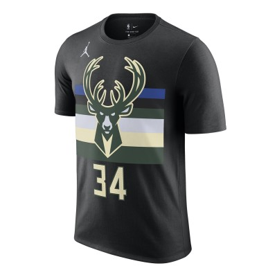 Jordan NBA Milwaukee Bucks Nick Name Tee Giannis Antetokounmpo 'Statement Edition'-CV9992-016