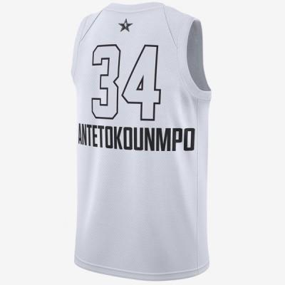 Jordan Swigman Jersey All-Star edition Antetokounmpo 'White' 928874-105