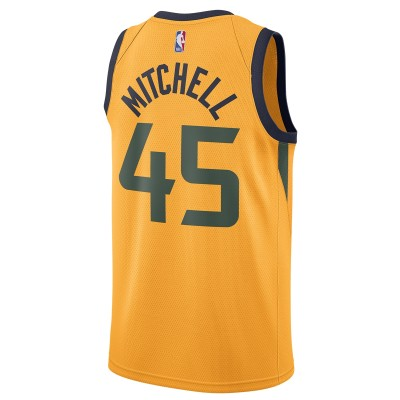 Jordan Utah Jazz Swingman Jersey Donovan Mitchell 'Statement Edition'-CV9496-719