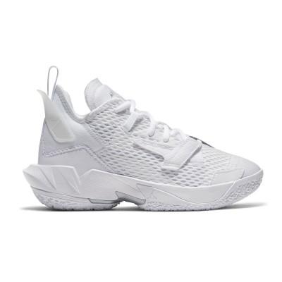 Jordan Why Not Zer0.4 Jr 'Triple White'-CQ9430-101