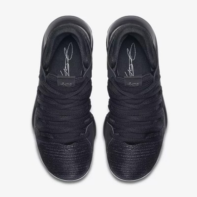 Nike Zoom KD 10 GS 'Triple Black'