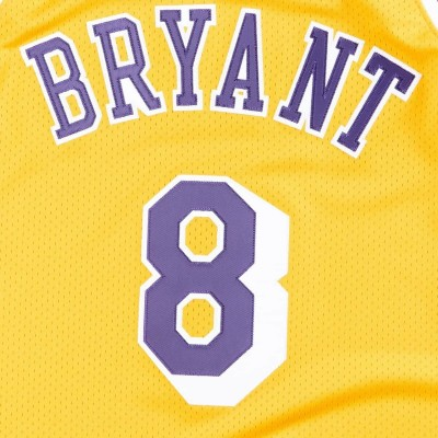 Mitchell & Ness Authentic Jersey L.A. Lakers Home Kobe Bryant '1996-07' AJY4GS18091