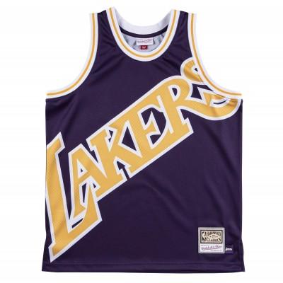 Mitchell & Ness Big Face Jersey 'Lakers'-MSTKBW19068-LAL
