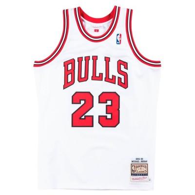 Mitchell & Ness Jordan Authentic Jersey 'Home 95-96'-CBUWHIT9-5MJO