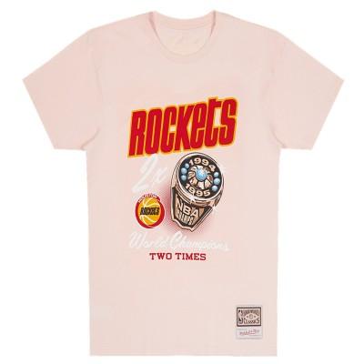 Mitchell & Ness NBA Pastel Rings 'Houston Rockets'-INTL861-HOUROC