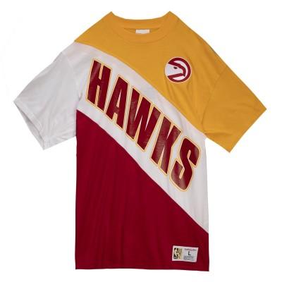 Mitchell & Ness Play By Play Tee 'Atlanta Hawks'-SSTEMI19038-AH