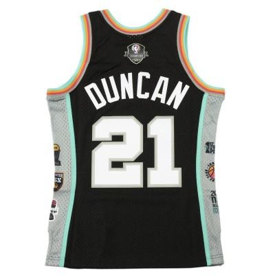 Mitchell & Ness Swingman HOF Tim Duncan San Antonio Spurs '1997-2016'-SMJYCP20031-SAS
