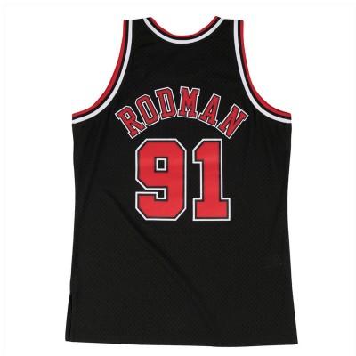 Mitchell & Ness Swingman Jersey Alternate Bulls Rodman '1997-98'-SMJYGS18152