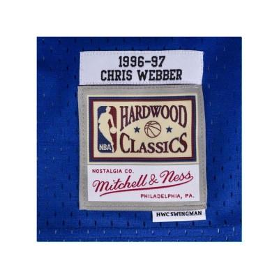 Mitchell & Ness Swingman Jersey Bullets Webber '1996-97'-SMJYCP19069