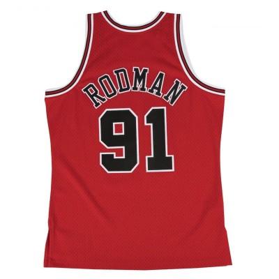 Mitchell & Ness Swingman Jersey Chicago Bulls 1997-98 'Dennis Rodman'-SMJYGS18154