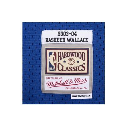 Mitchell & Ness Swingman Jersey Detroit Pistons Rasheed Wallace '2003-04'-SMJYAC19110