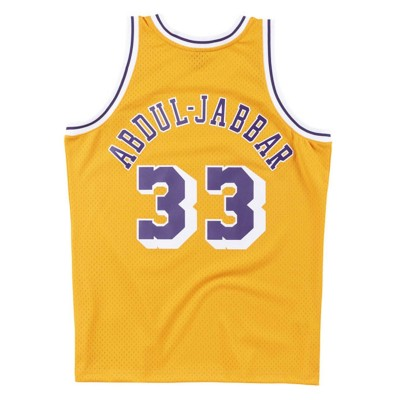 Mitchell & Ness Swingman Jersey Los Angeles Lakers 1984-85 'Kareem Abdul-Jabbar'-SMJYAC18110