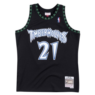 Mitchell & Ness Swingman Jersey Minnesota Timberwolves Kevin Garnett '1997-98'-SMJYGS18392
