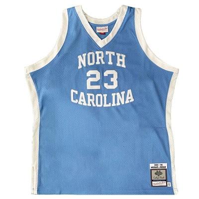 Mitchell & Ness Swingman Jersey North Carolina Michael Jordan '1983-84'-AJ5LG20002-UNCLTBL83MJO