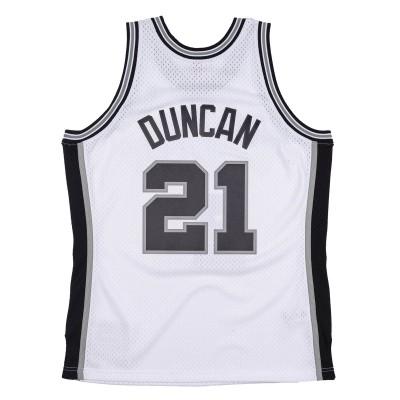 Mitchell & Ness Swingman Jersey San Antonio Spurs Tim Duncan '1998-99'-SMJYCP19247