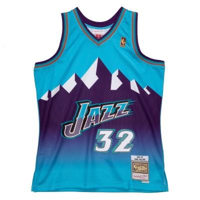 Mitchell & Ness Swingman Jersey Utah Jazz 1996-97 Reload 'Karl Malone'-SMJYCP19271-UJA