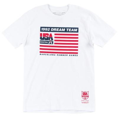 Mitchell & Ness 1992 Team Flag Tee Team USA BMTRCW18134