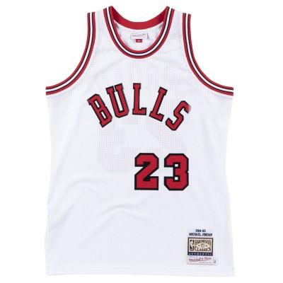 Mitchell & Ness Jordan Authentic Jersey '84-85 Rookie Home' CBUWHIT8-4MJO