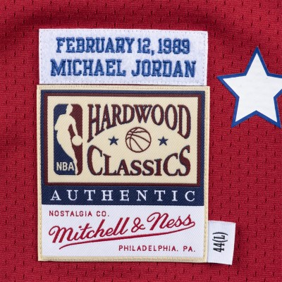 Mitchell & Ness Jordan Authentic Jersey 'All-Star 89' ASESCAR8-9MJO