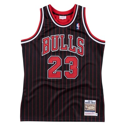Mitchell & Ness Jordan Authentic Jersey 'Alternate 95-96'-CBUBLCK9-5MJO