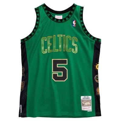 Mitchell & Ness Swingman HOF Kevin Garnett Boston Celtics '1995-2016'-SMJYCP20030-BCE