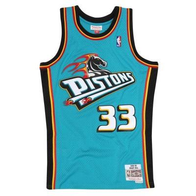Mitchell & Ness Swingman Jersey Detroit Pistons Grant Hill '1998-99'-SMJYGS18164