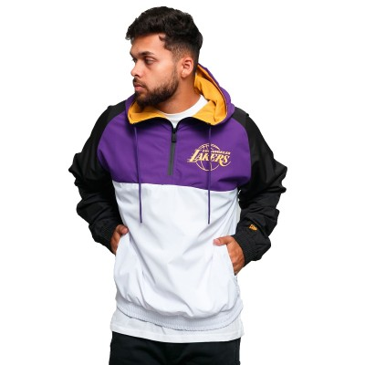 New Era Windbreaker Jacket 'Lakers'-12033458