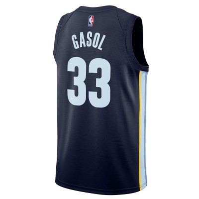 Nike NBA Grizzlies Swingman Jersey Marc Gasol 'Icon Edition' 864485-419
