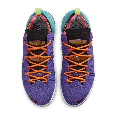 Nike LeBron 18 'Psychic Purple'-DM2813-500