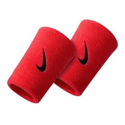 Nike Double Wristband 'Red'-NNN05601OS