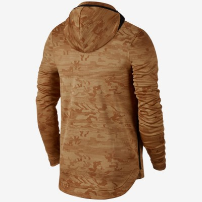 Nike Dry Kyrie Showtime Hoodie 'Camel' 890572-722