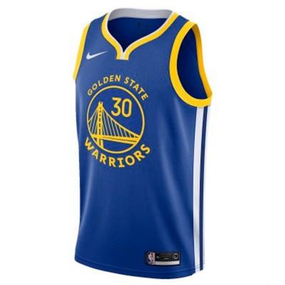 Nike Jr NBA Golden State Warriors Swingman Jersey Stephen Curry 'Icon Edition'-EZ2B7BZ2P-WARSC