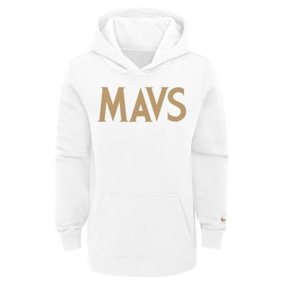 Nike Jr NBA Hoodie Dallas Mavericks 'City Edition'-EZ2B7FDKM-MAV
