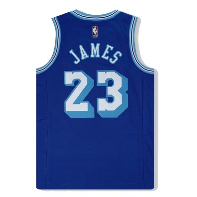 Nike Jr NBA Los Angeles Lakers Swingman Jersey LeBron James 'Classic Edition'-EZ2B7BXBP-LAKJL