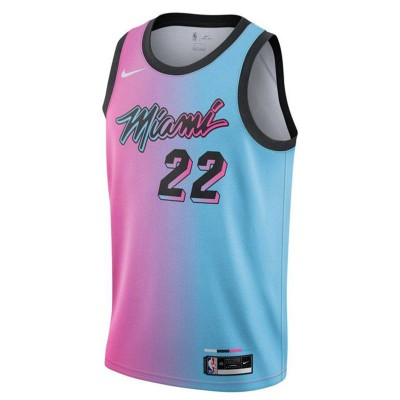 Nike Jr NBA Miami Heat Swingman Jersey Jimmy Butler 'City Edition'-EZ2B7BXCP-HEAJB