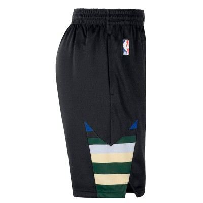 Nike Junior NBA Bucks Swingman Short 'Statement Edition'-EZ2B7BAFC-MBS