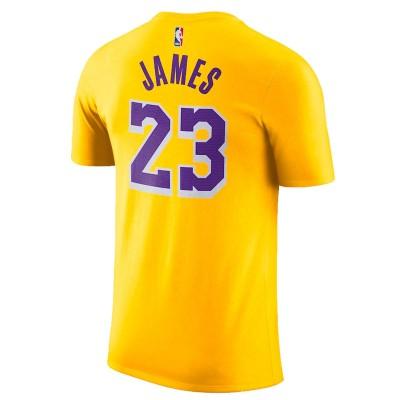 Nike Junior NBA Lakers Nick Name Tee James 'Icon Edition' EZ2B711F1-LALJI