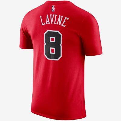 Nike NBA Bulls Tee Lavine 'Icon edition' 870764-666