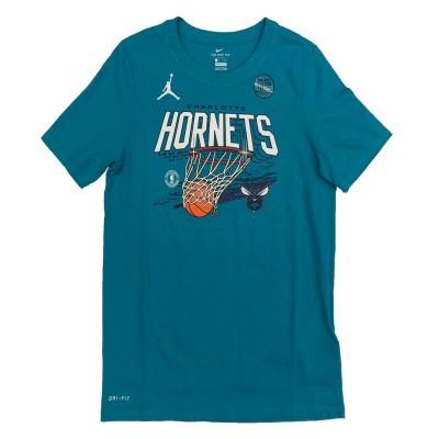 Nike NBA FNWR Hoops Hornets 'Turqoise'-EZ2B7BBW2-HOR