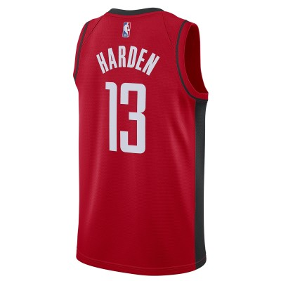 Nike NBA Houston Rockets Swingman Jersey James Harden 'Icon Edition'-CW3666-665