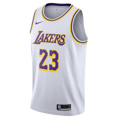 Nike NBA Lakers Swingman Jersey James 'Association Edition'-AA7101-111