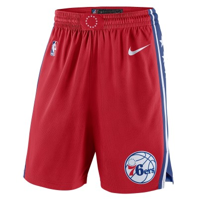 Nike NBA Phila Swingman Short 19/20 'Statement Edition'-AJ5636-657