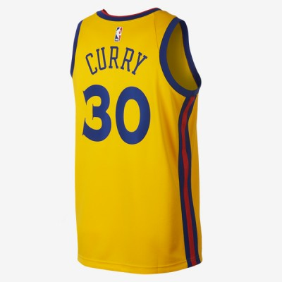 Nike NBA Swingman Jersey GSW Stephen Curry 'City Edition' 912101-728