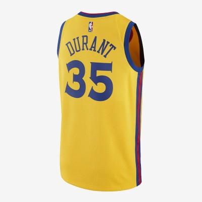 Nike NBA Warriors Swingman Jersey Durant 'City Edition' EZ2B7BZ2P-GSKDC