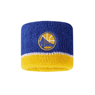 Nike NBA Wristband GS Warriors 'Blue'-N1000560467OS