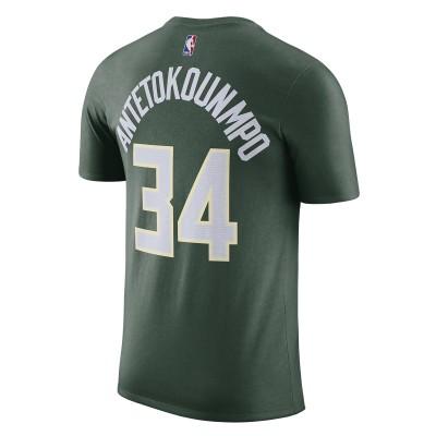 Nike T-Shirt Milwakee Bucks 'Giannis Antetokounmpo'-CV8534-326