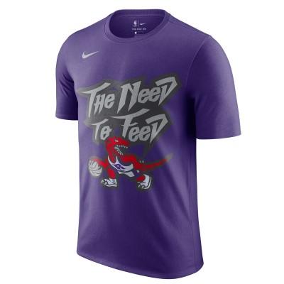 Nike Toronto Raptors Vintage T-Shirt 'Purple'-CJ5669-547